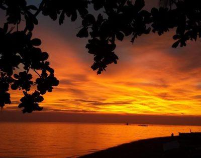 luxor beach and sunset- best beach in gasan